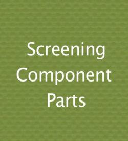 Screen Component Parts